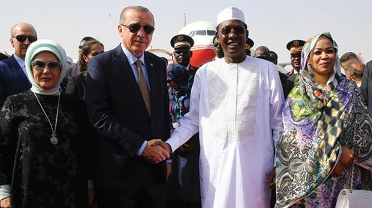 Çad'dan Türkiye'ye tarihi destek