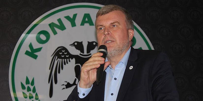 Konyaspor Başkanı Ahmet Şan istifa etti!