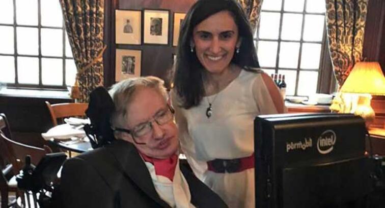 Stephen Hawking'i Türk bilim insanı konuşturacak