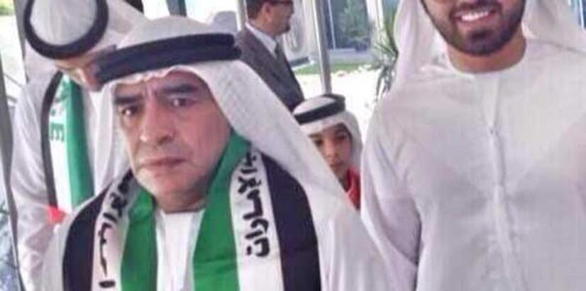Diego Armando bin Al-Maradona!