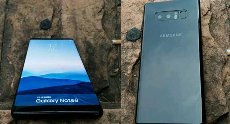 Samsung Galaxy Note 8'in yeni renk seçeneği ortaya çıktı