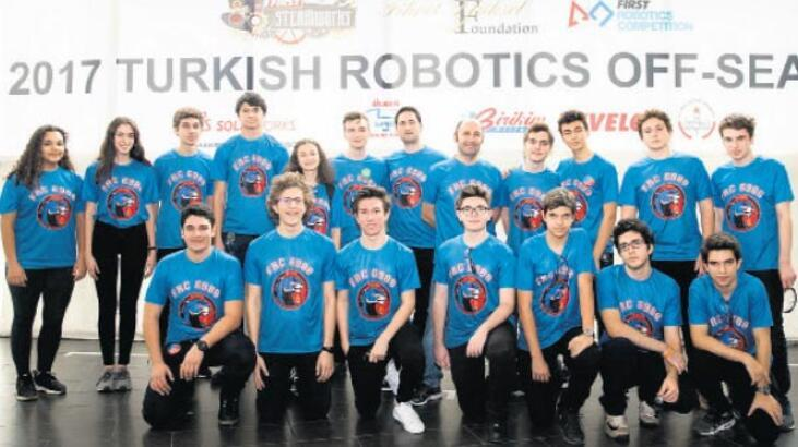 Robotlar yarışacak!