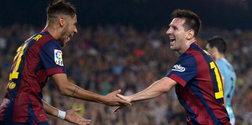 Messi'nin mutlu gecesi