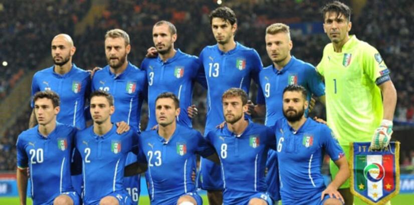 İtalya Milli Takımı'nın Euro 2016 aday kadrosu açıklandı