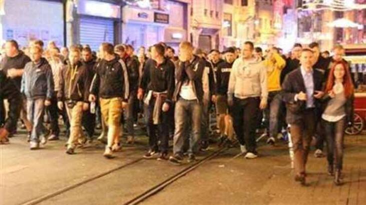 Taksim'de Devler Ligi kavgası