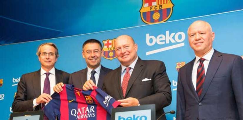 Beko, Barcelona'ya yıllık 10 milyon euro ödeyecek