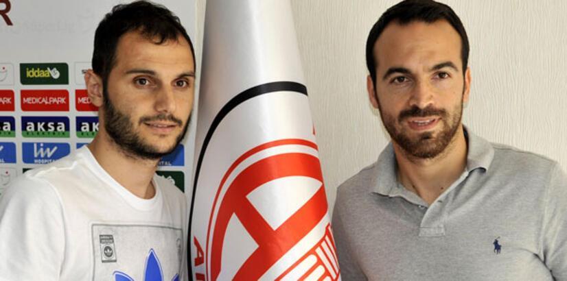 Serkan Atak ve Arif Şahin Antalyaspor'da!