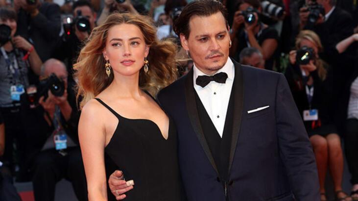 Johnny Depp-Amber Heard boşanıyor!