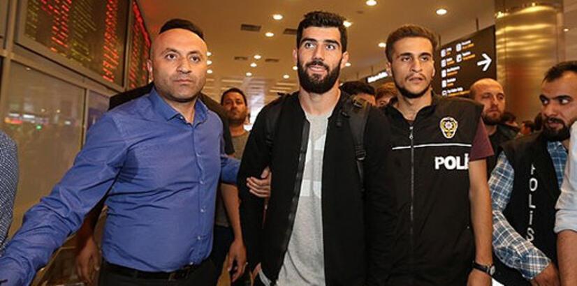 Luis Neto, İstanbul'a geldi!