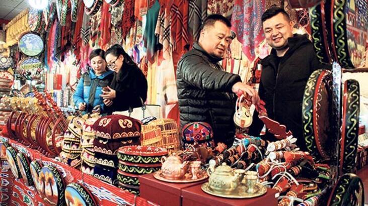 'Kuşak ve Yol'un  Şincan'a katkısı