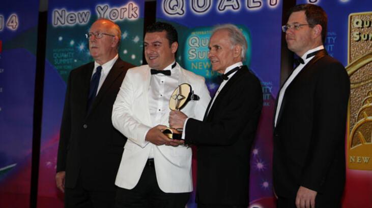 CRT Group'a dünyanın en büyük kalite ödülü