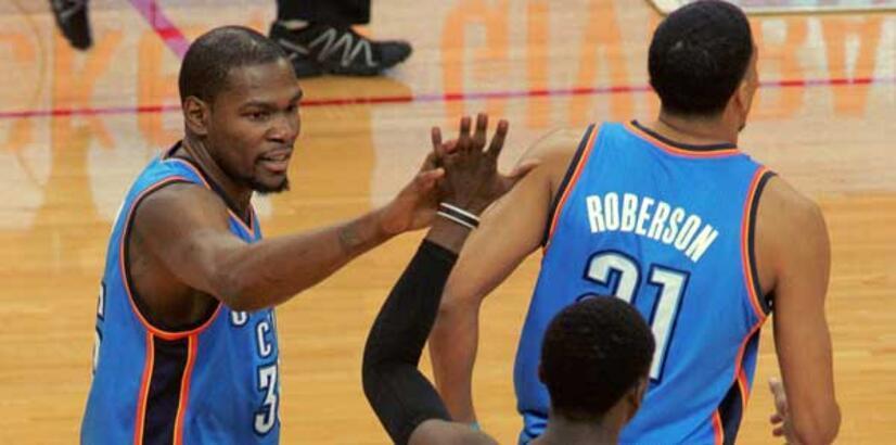 Durant, Jordan'ı yakaladı!