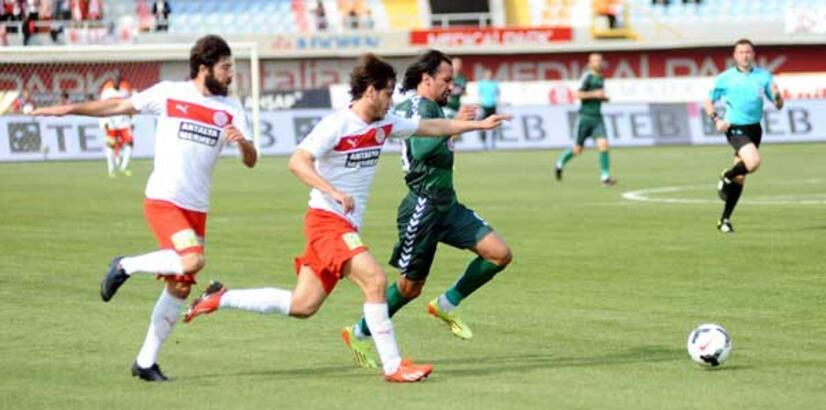 MP Antalyaspor - Konyaspor: 1-1