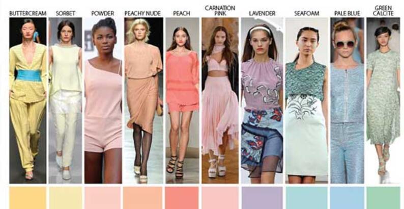 Bu yaz hangi renkler moda?