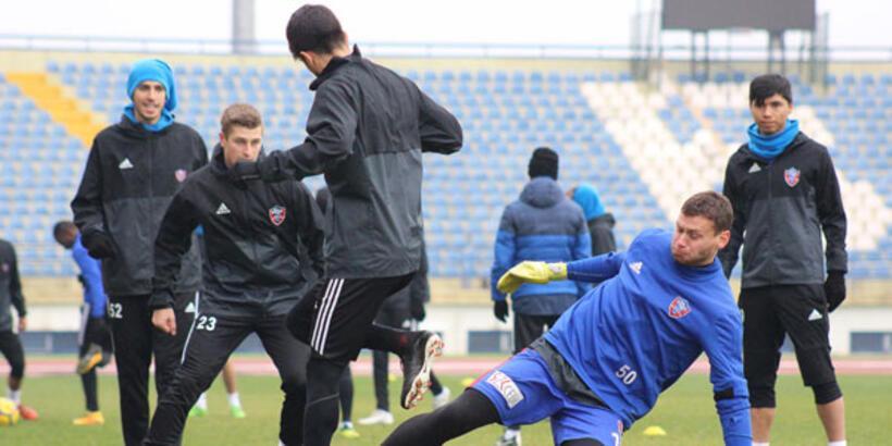 Karabükspor'da Trabzonspor hazırlıkları