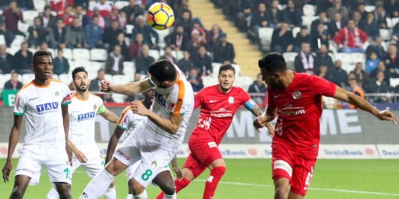 Antalyaspor, 5 hafta sonra kazandı