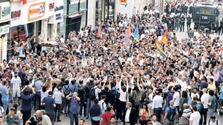 Gezi'de ölenler unutulmadı