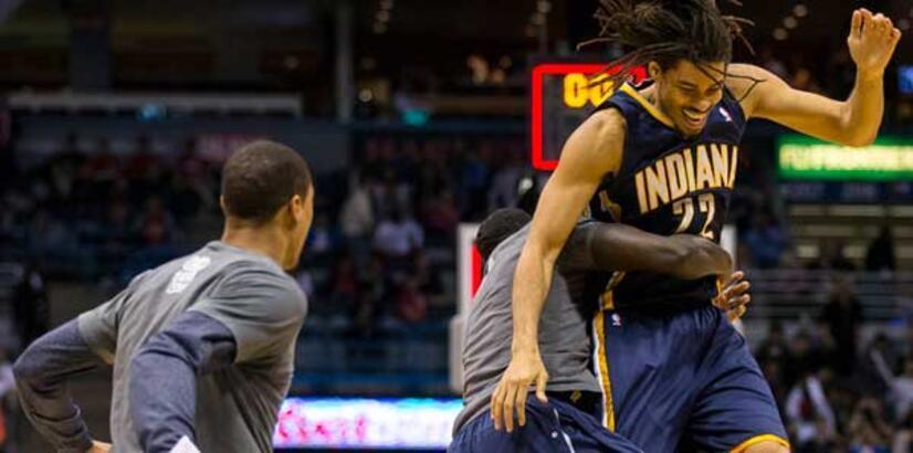 Miami yenildi, Indiana Pacers yeniden lider!
