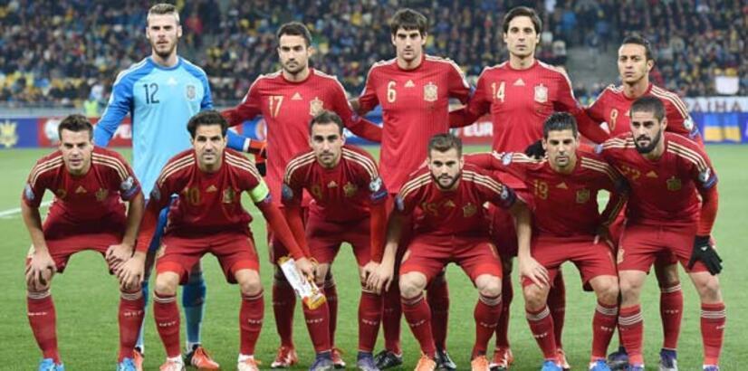 İspanya'nın nihai kadrosu açıklandı