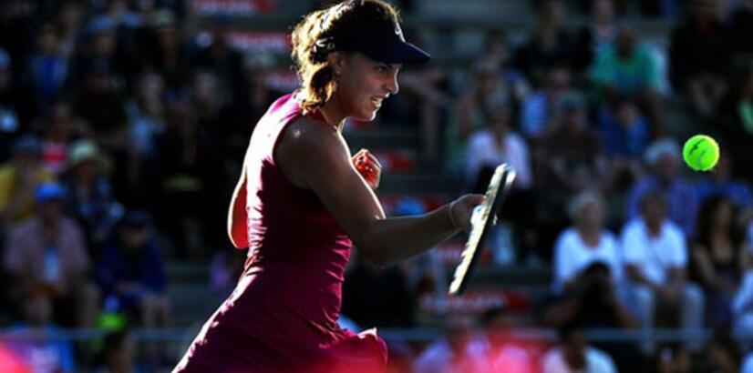 Ana Konjuh, 4 numaralı seri başı Svitolina'yı eledi!