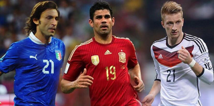 EURO 2016'ya katılamayan yıldızlar