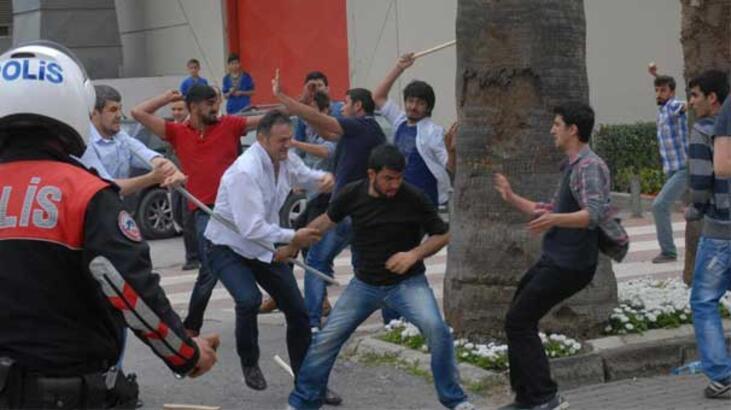 İzmir'de 1 Mayıs kavgası