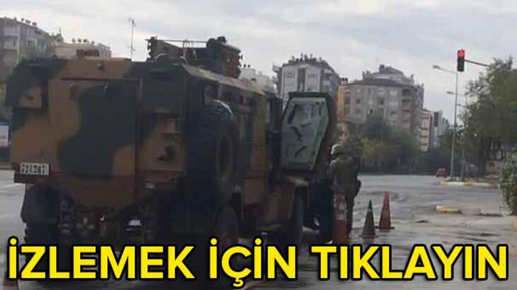 Asker sokağa indi!