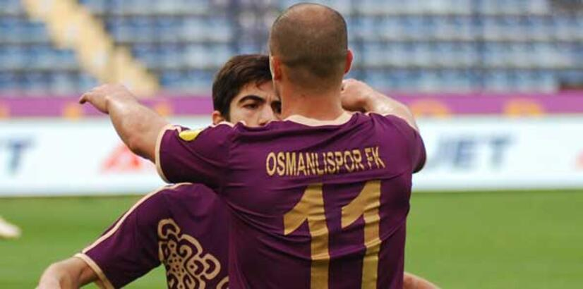 Albimo Alanyaspor-Osmanlıspor: 1-3
