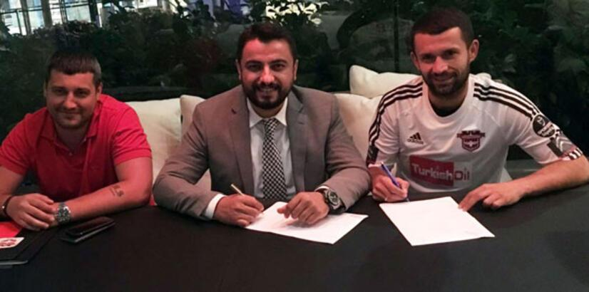 Gaziantepspor, Rubin Kazan'dan Sergey Kislyak'ı transfer etti