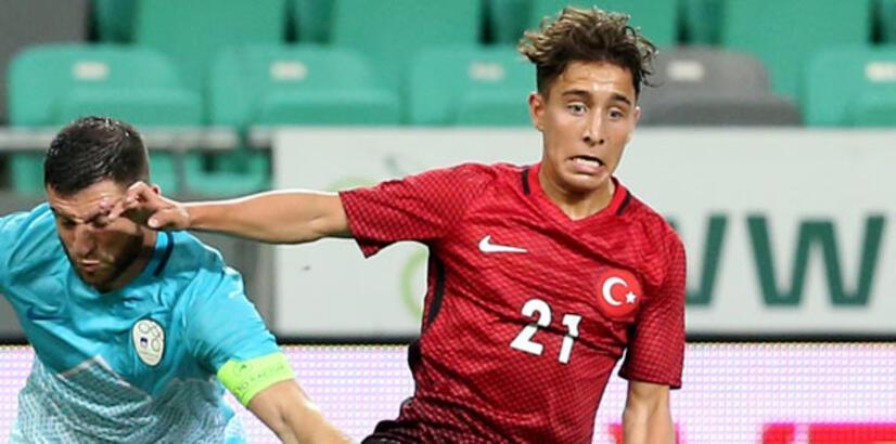 Emre Mor UEFA'nın genç yetenekler 11'inde
