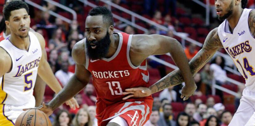 "Lakers, Rockets'a ""dur"" dedi"