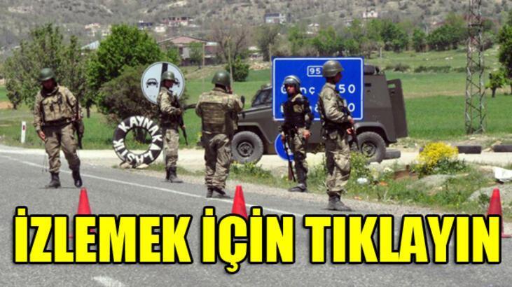 Diyarbakır'da 2 uzman çavuş kaçırıldı, 9 asker yaralı