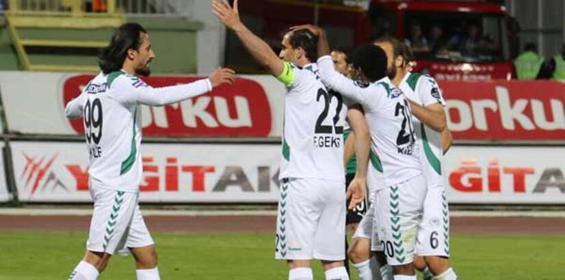 Torku Konyaspor'da yüzler gülüyor