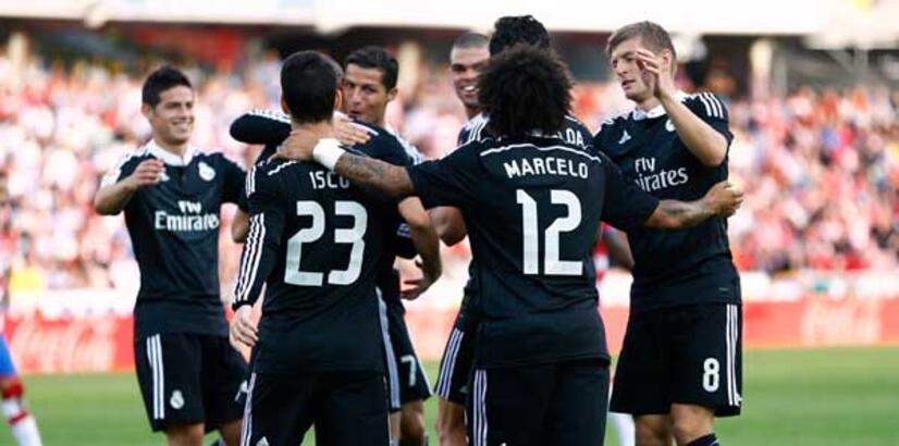 Real Madrid zirveye yerleşti!