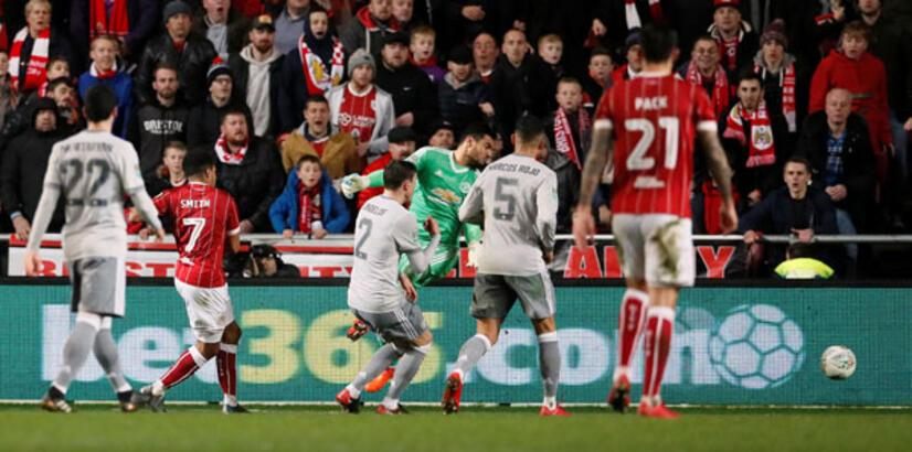 Bristol City - Manchester United: 2-1