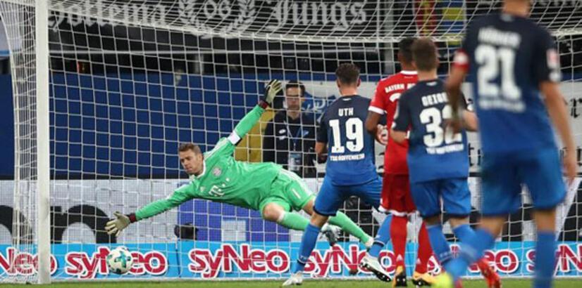 Bayern Münih, Hoffenheim'a yıkıldı!