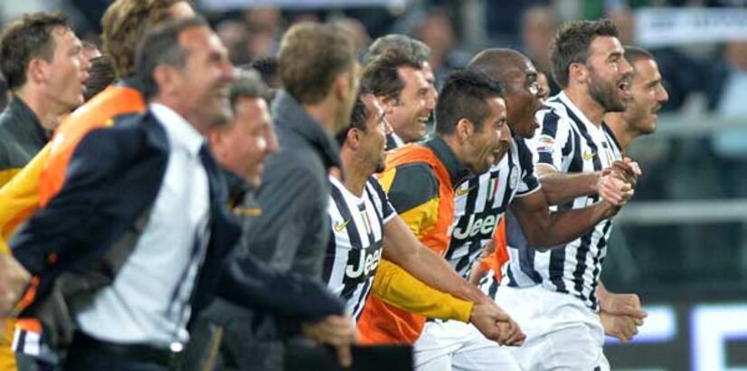 Şampiyon Juventus'un gözü rekorda