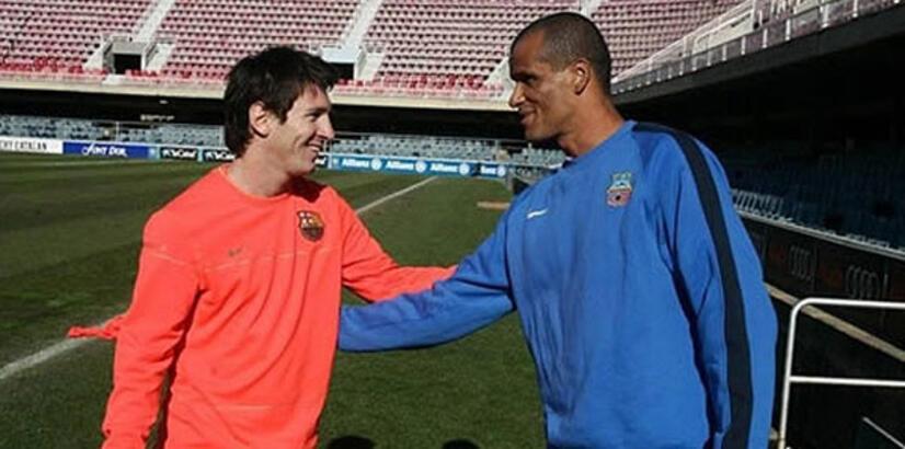 "Rivaldo: ""Messi ile oynamak isterdim"""