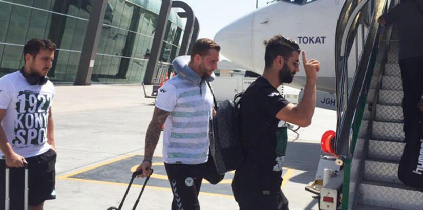 Atiker Konyaspor Marsilya'ya gitti