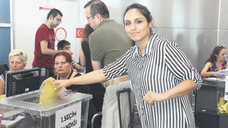 Yurtdışı oyları gümrük artırdı