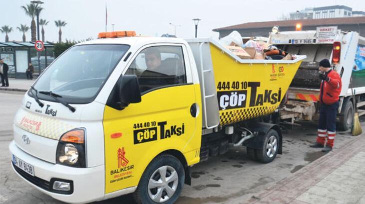 Alo çöp taksi!