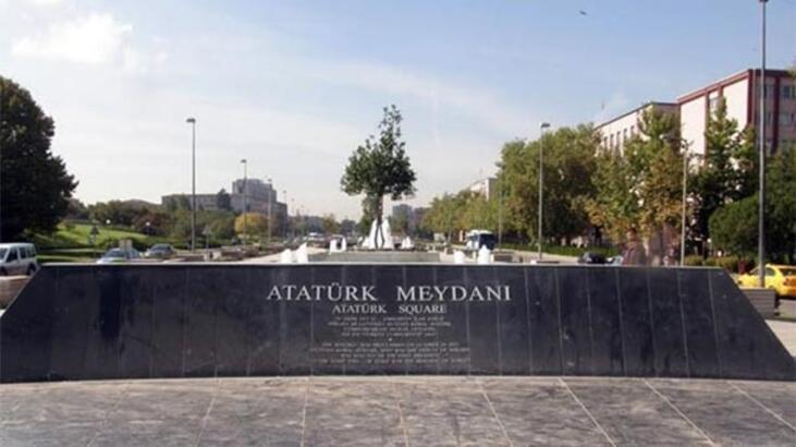 """Ankara Büyükşehir Belediyesi'den """"Atatürk Meydanı"""" açıklaması"""
