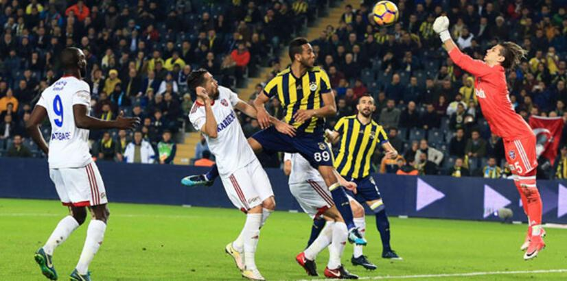 Fenerbahçe - Kardemir Karabükspor: 2-0 (İşte maçın özeti)
