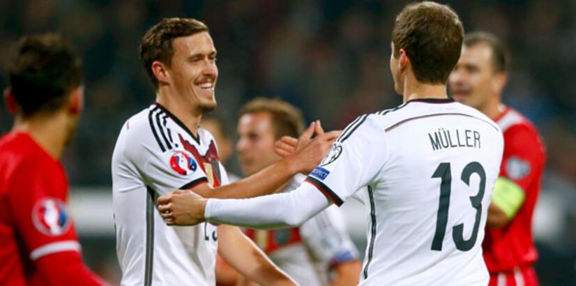Almanya'ya 4 gol yetti!