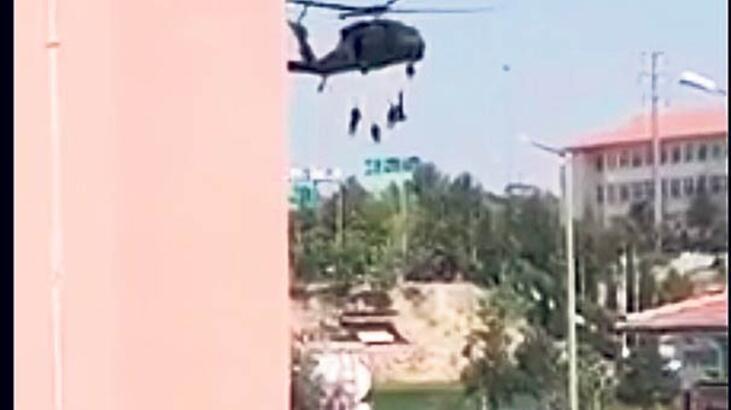 Helikopterin çarptığı polis şehit oldu