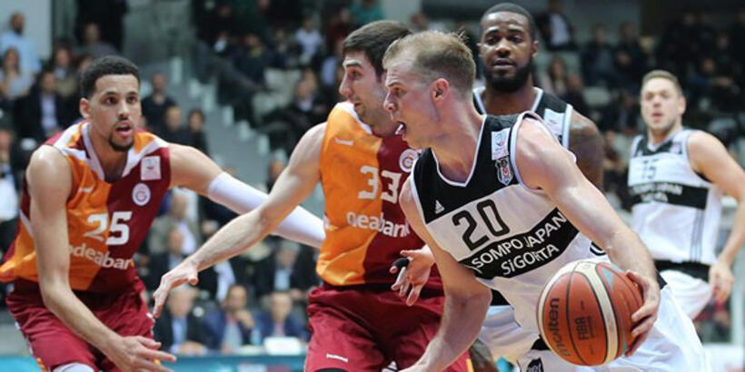 Basketbolda Beşiktaş SJ - Galatasaray OB derbisi!