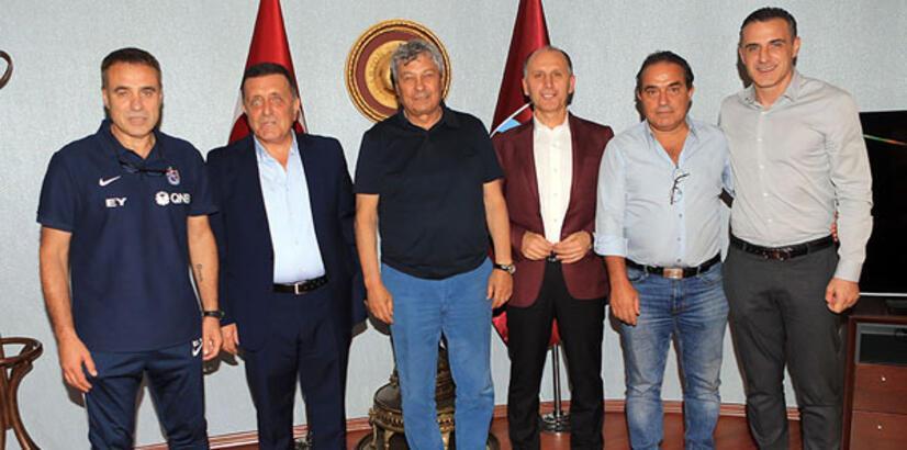 Lucescu'dan Trabzonspor'a ziyaret!