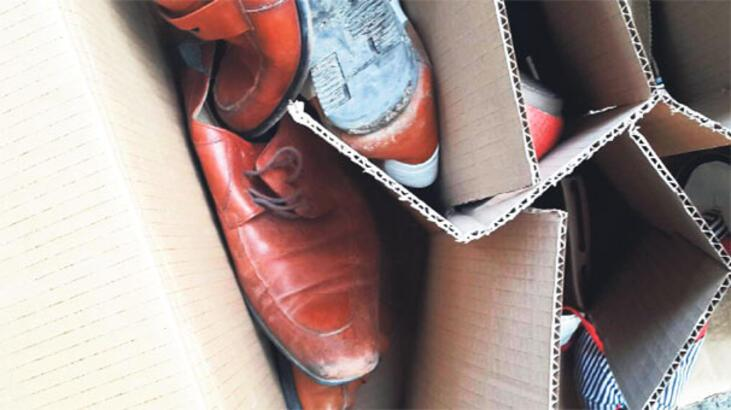 25 bin zehirli ayakkabı nerede?