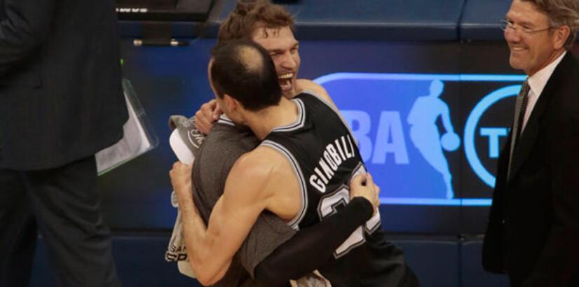 Batı'nın şampiyonu San Antonio Spurs!