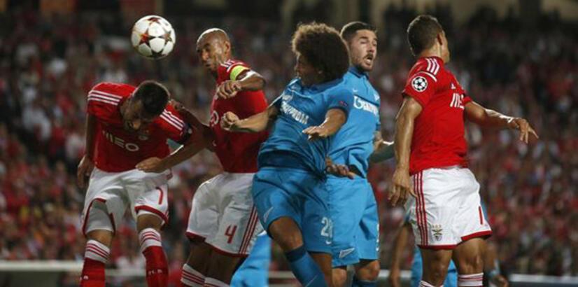 Zenit - Benfica: 1 - 0 maç sonucu ve özeti